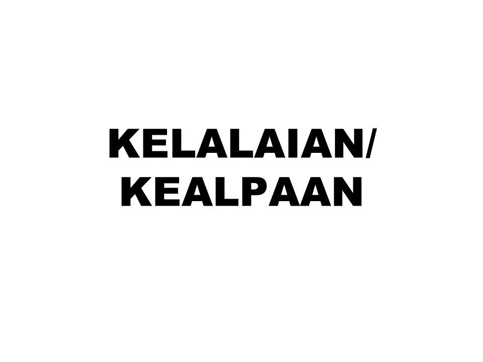 KELALAIAN/ KEALPAAN