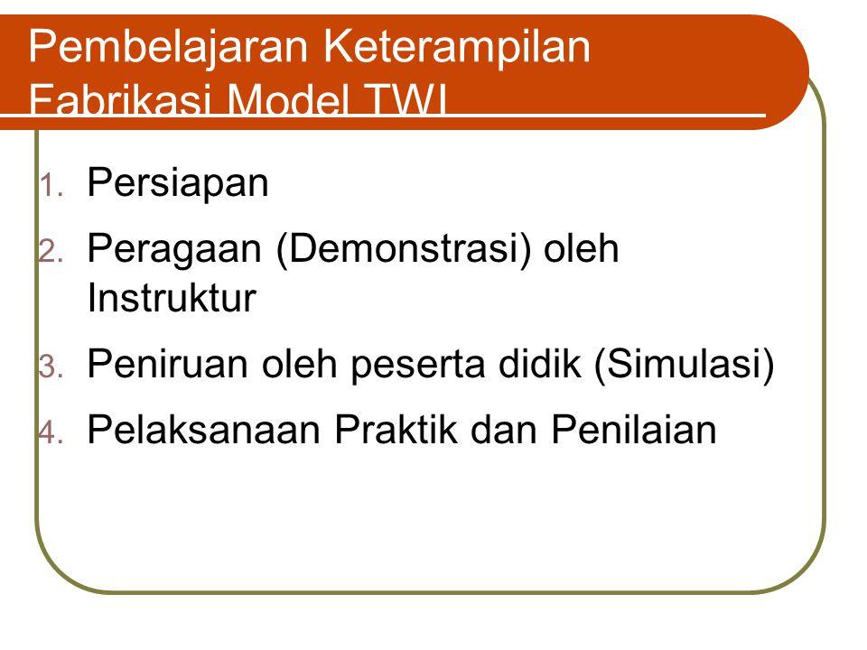 Pembelajaran Keterampilan Fabrikasi Model TWI