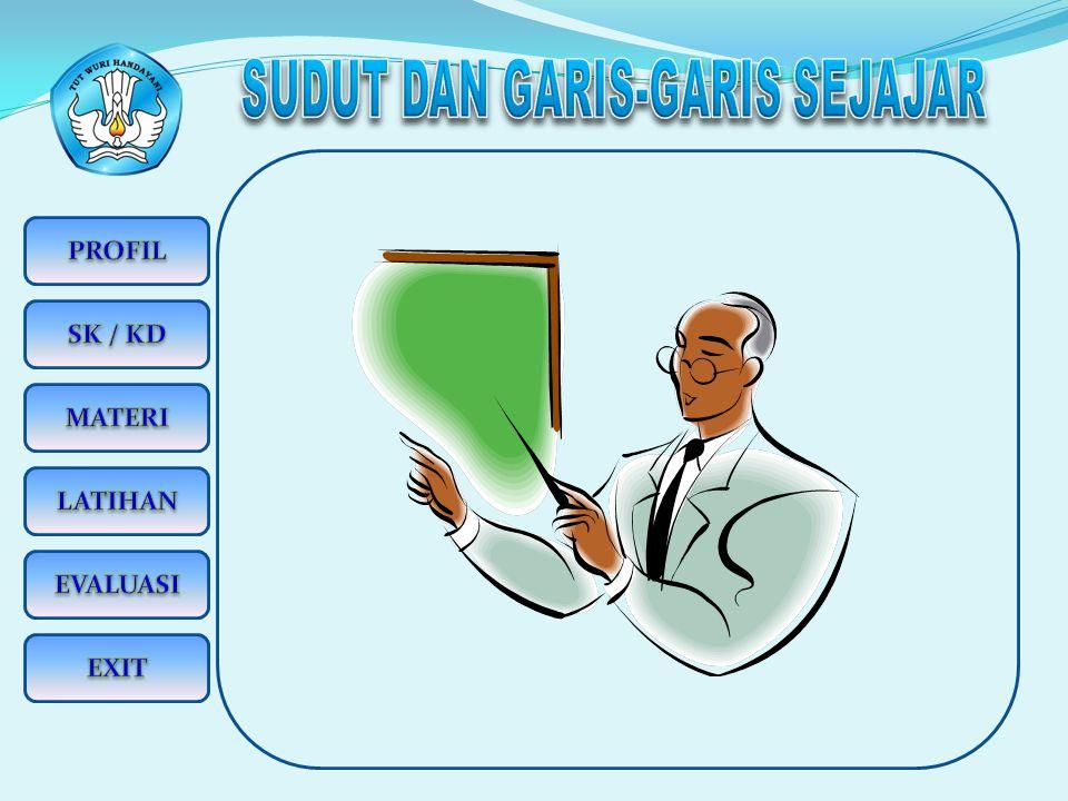 SUDUT DAN GARIS-GARIS SEJAJAR