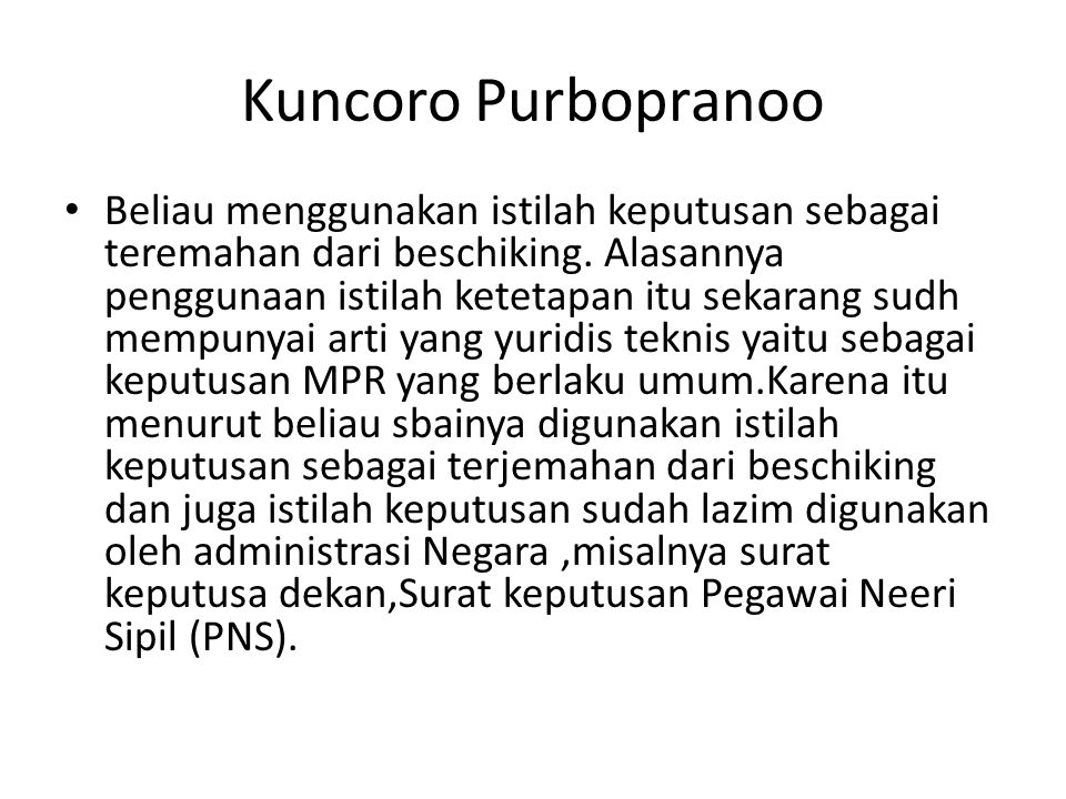 Kuncoro Purbopranoo