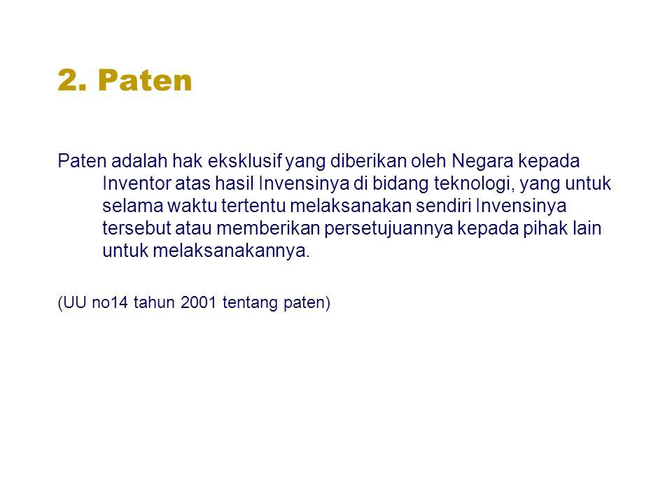 2. Paten