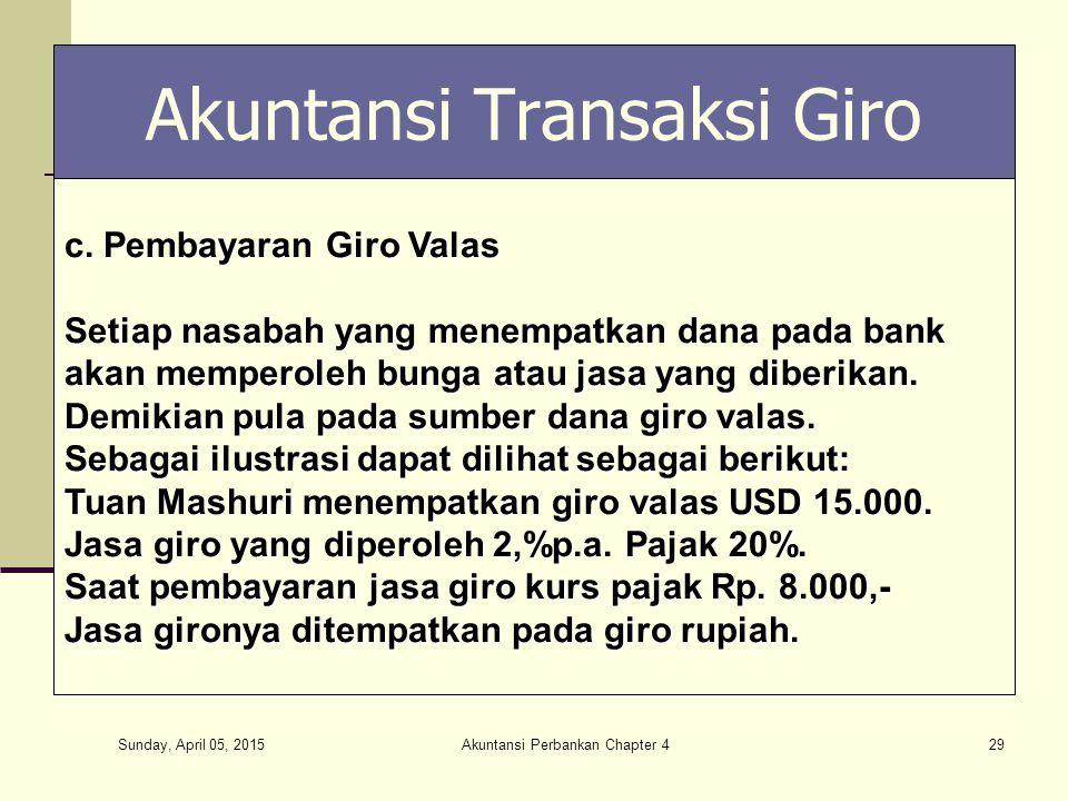 Akuntansi Transaksi Giro