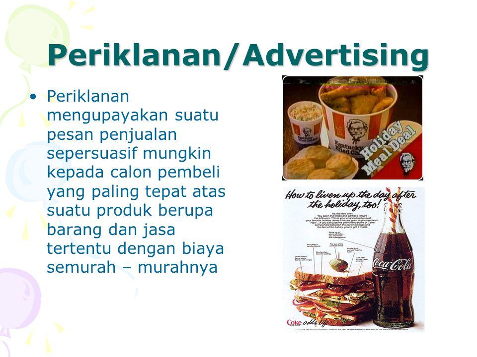 Periklanan/Advertising