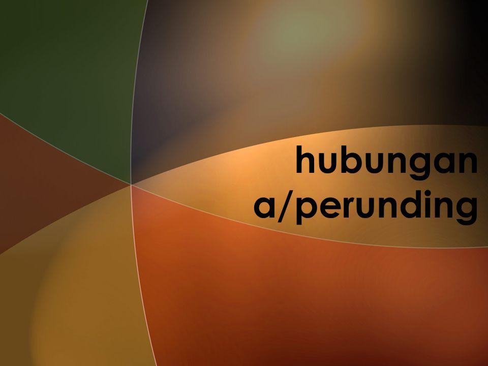 hubungan a/perunding