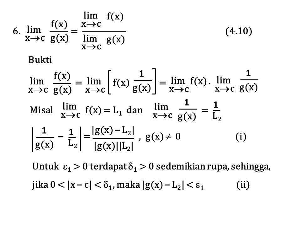 lim xc. 6. = (4.10)