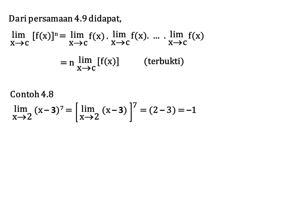 Dari persamaan 4.9 didapat,