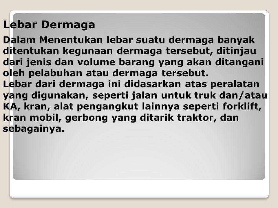 Lebar Dermaga