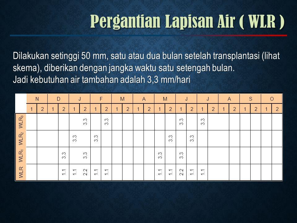 Pergantian Lapisan Air ( WLR )