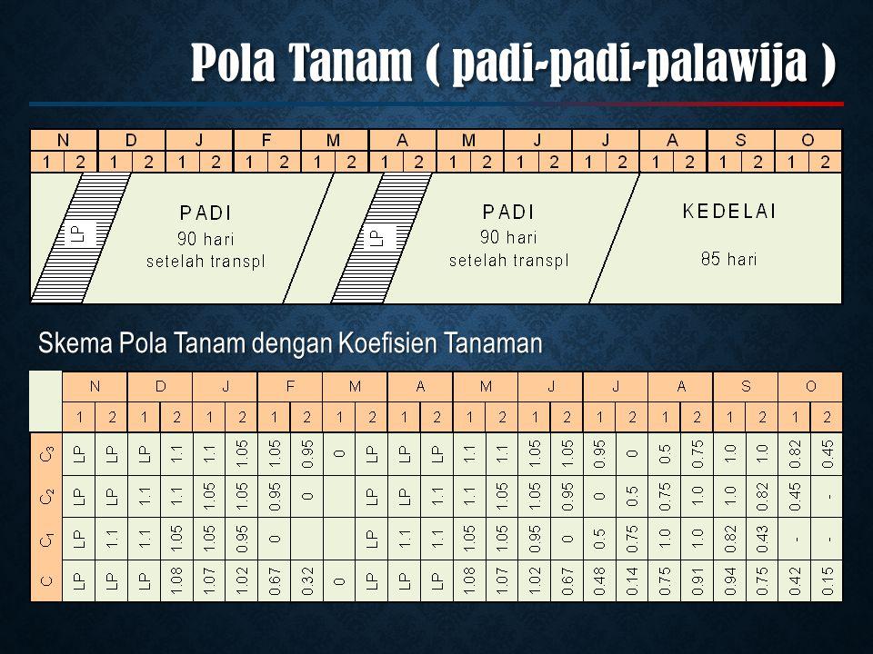 Pola Tanam ( padi-padi-palawija )