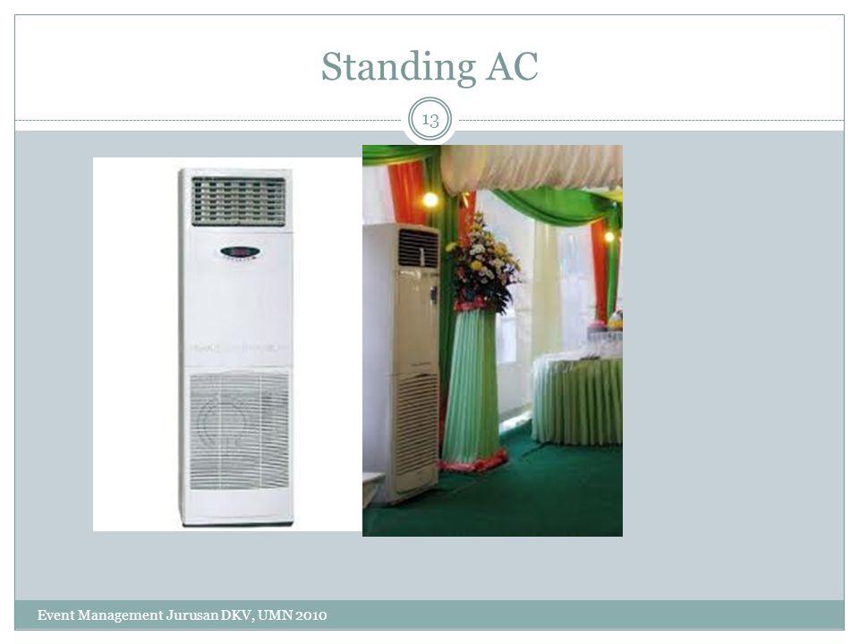 Standing AC Event Management Jurusan DKV, UMN 2010