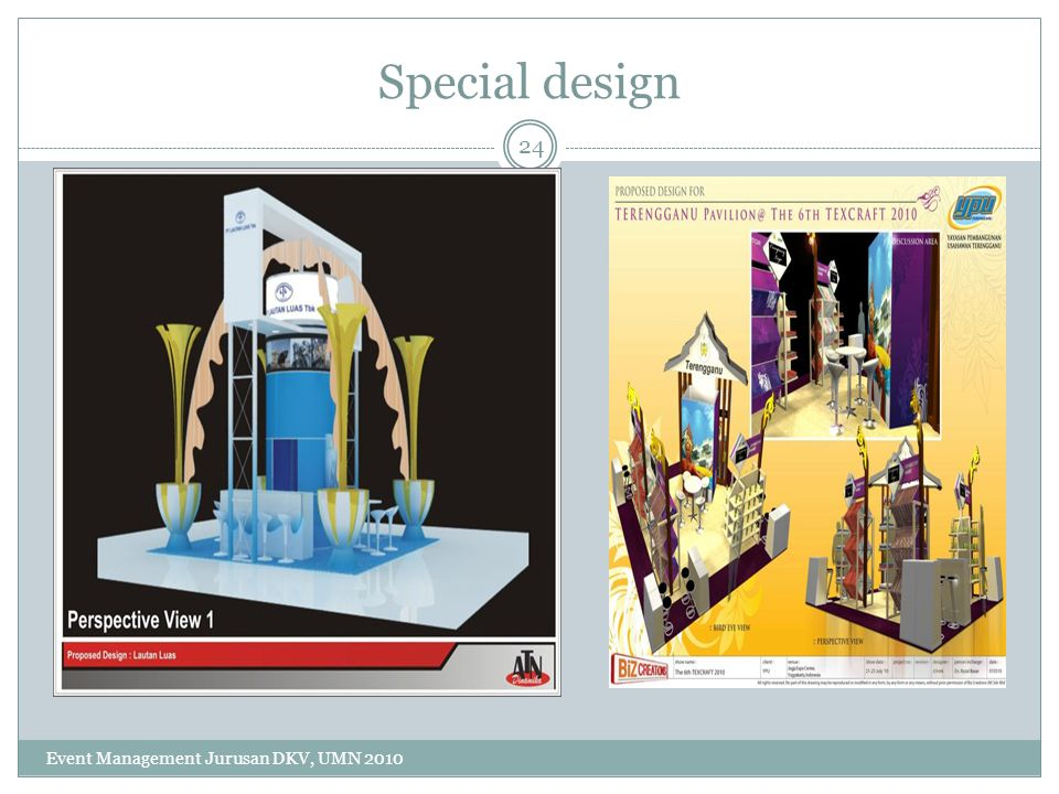 Special design Event Management Jurusan DKV, UMN 2010