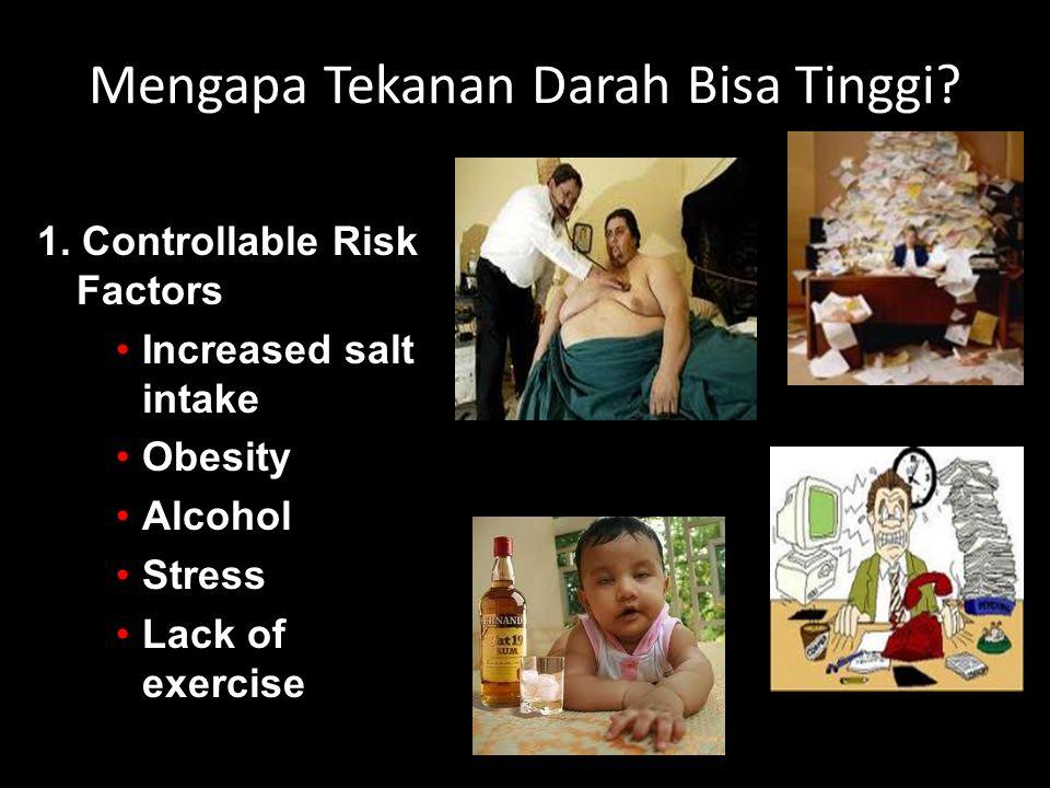Mengapa Tekanan Darah Bisa Tinggi