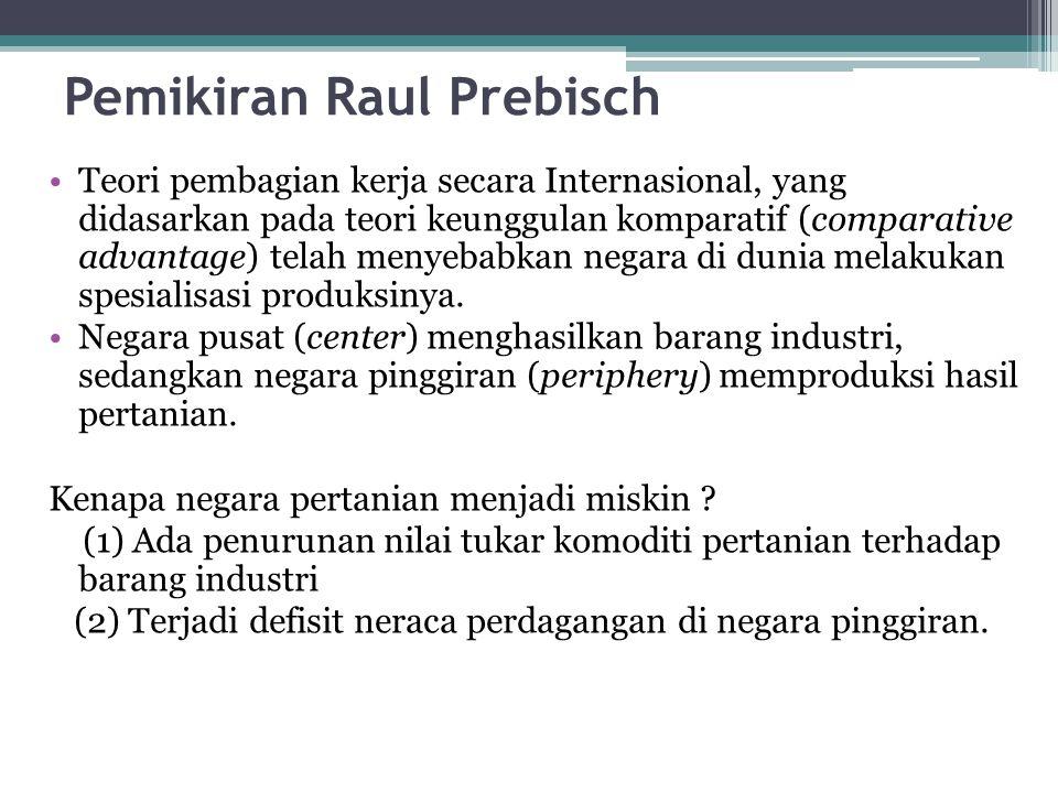 Pemikiran Raul Prebisch