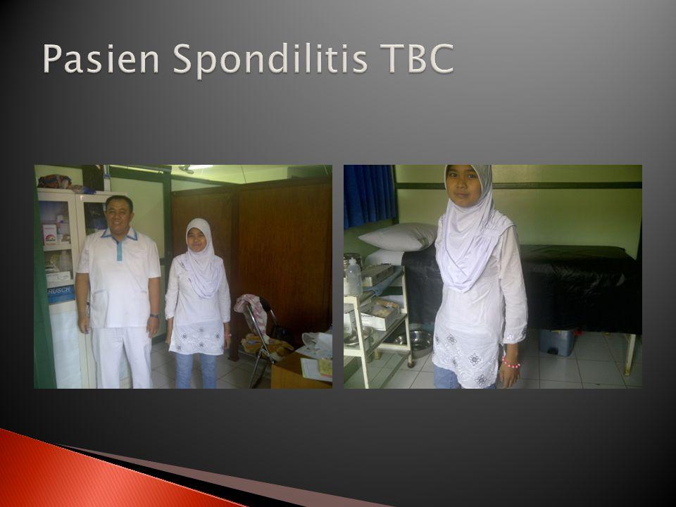 Pasien Spondilitis TBC