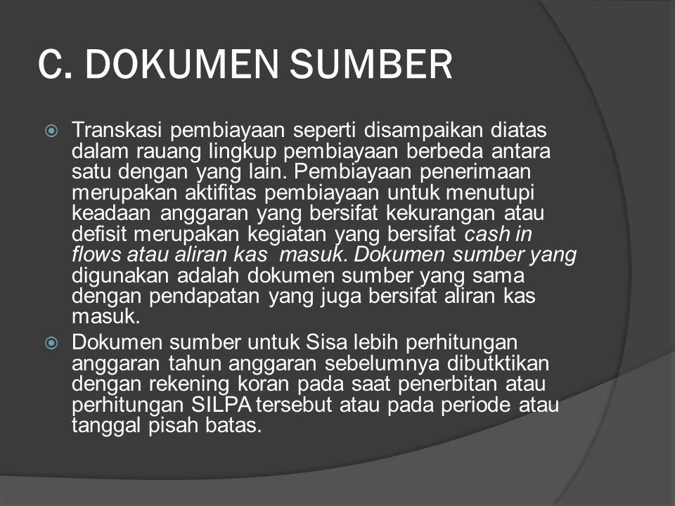 C. DOKUMEN SUMBER