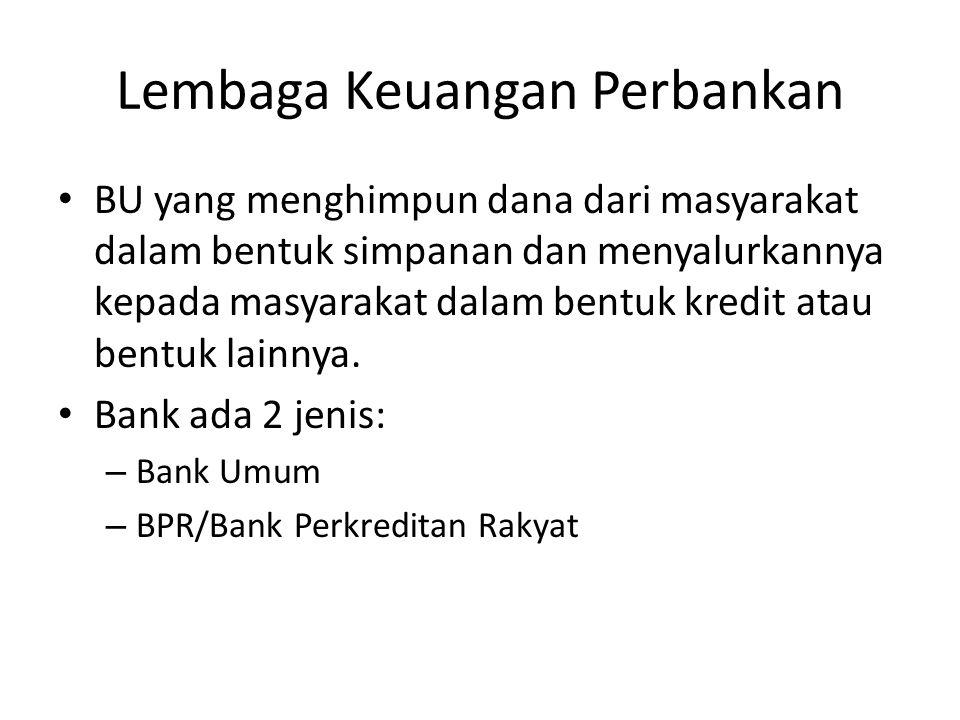 Lembaga Keuangan Perbankan