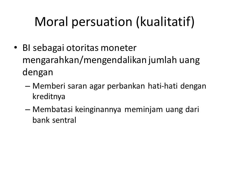 Moral persuation (kualitatif)