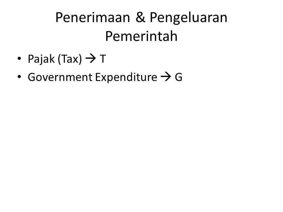 Penerimaan & Pengeluaran Pemerintah