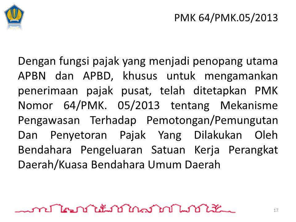 PMK 64/PMK.05/2013