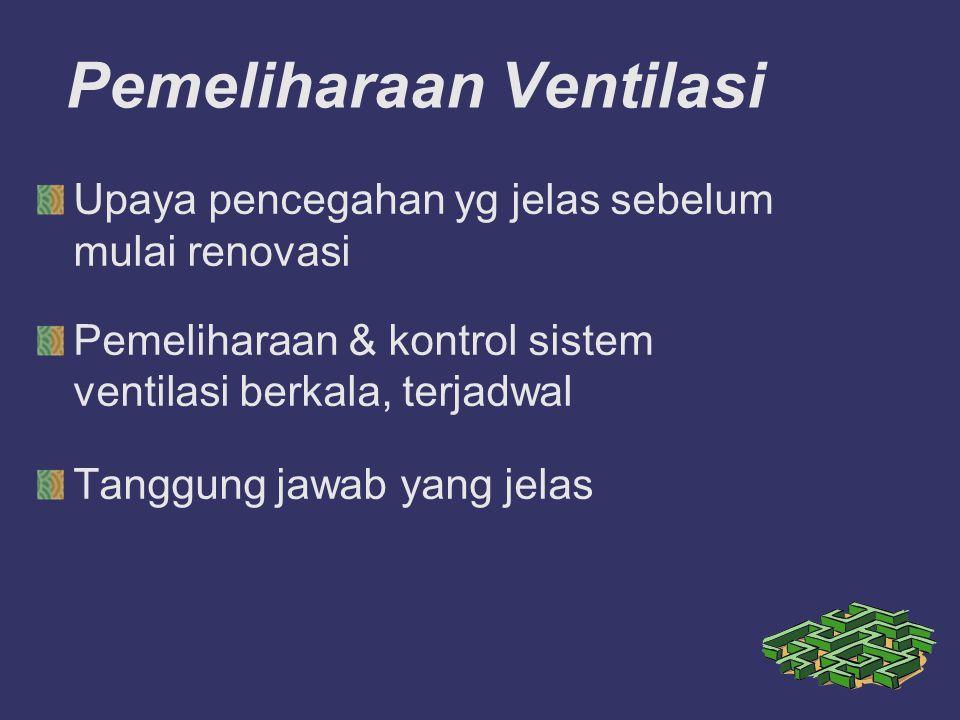 Pemeliharaan Ventilasi