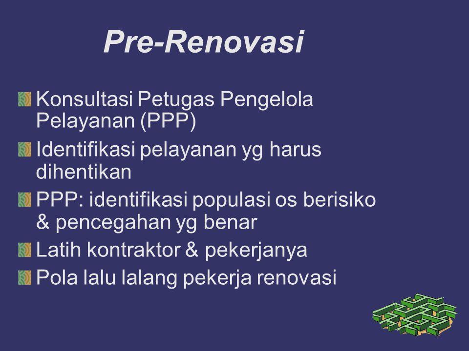 Pre-Renovasi Konsultasi Petugas Pengelola Pelayanan (PPP)
