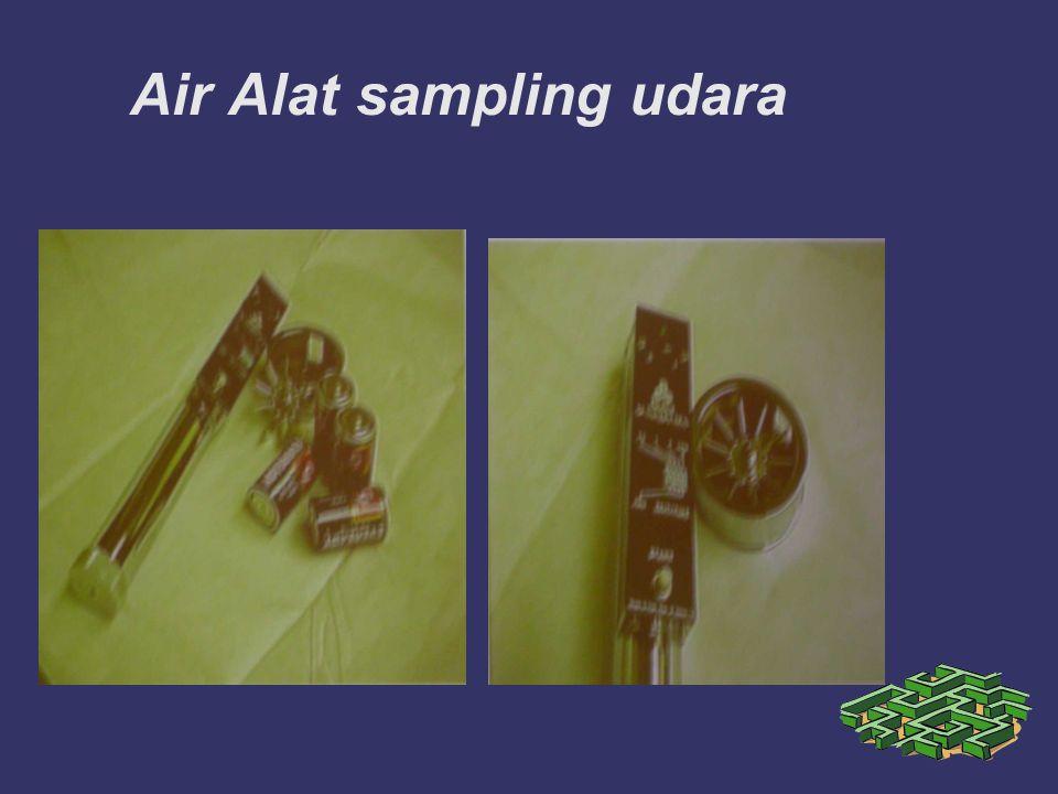 Air Alat sampling udara