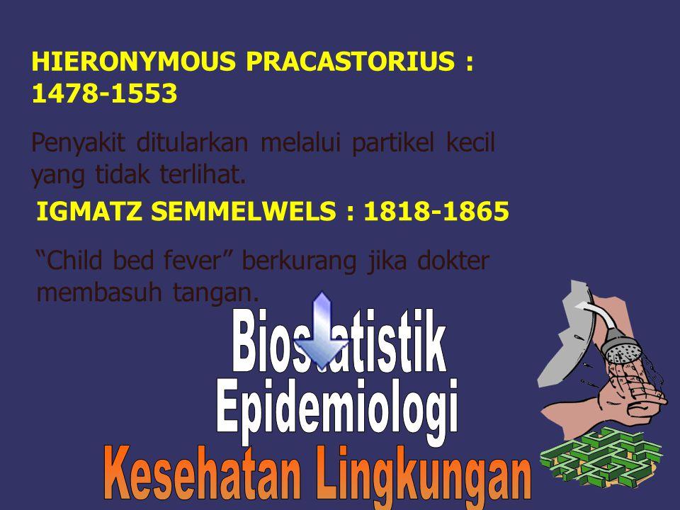 Biostatistik Epidemiologi Kesehatan Lingkungan