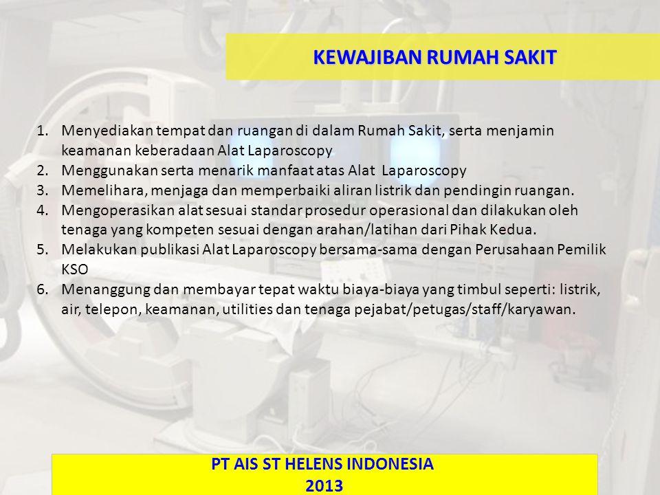 PT AIS ST HELENS INDONESIA