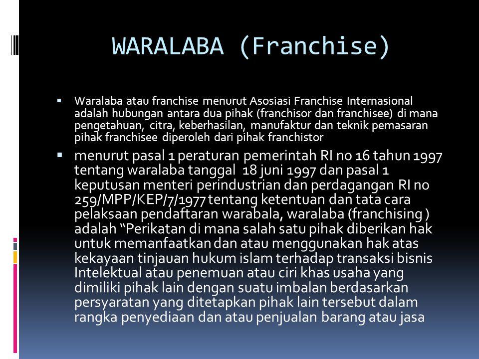 WARALABA (Franchise)