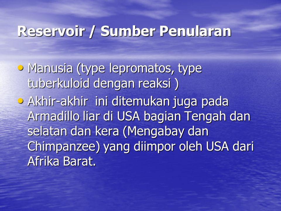 Reservoir / Sumber Penularan