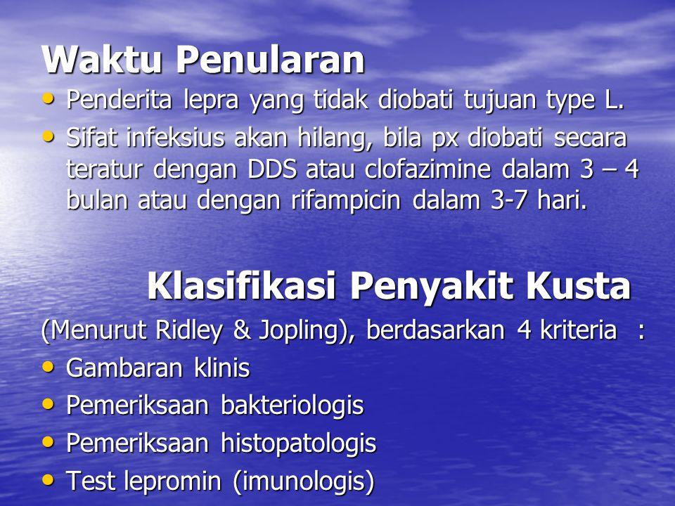 Klasifikasi Penyakit Kusta