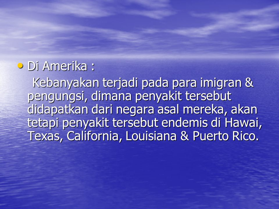 Di Amerika :