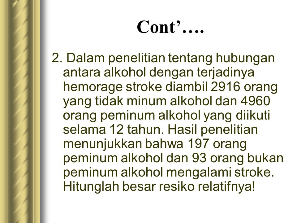 Cont'….