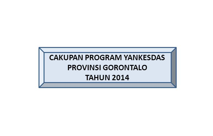 CAKUPAN PROGRAM YANKESDAS