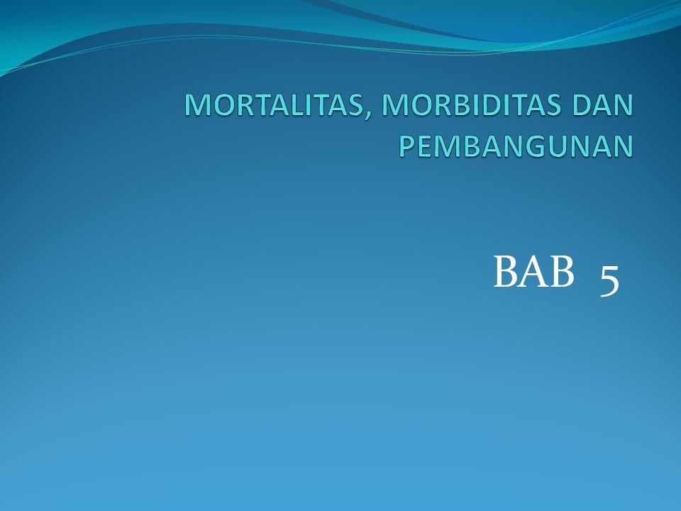 MORTALITAS, MORBIDITAS DAN PEMBANGUNAN