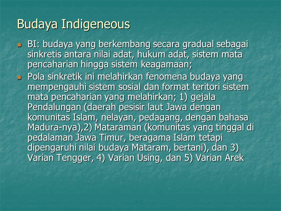 Budaya Indigeneous