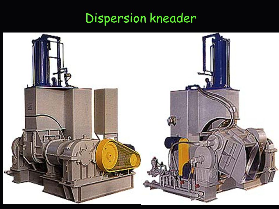 Dispersion kneader