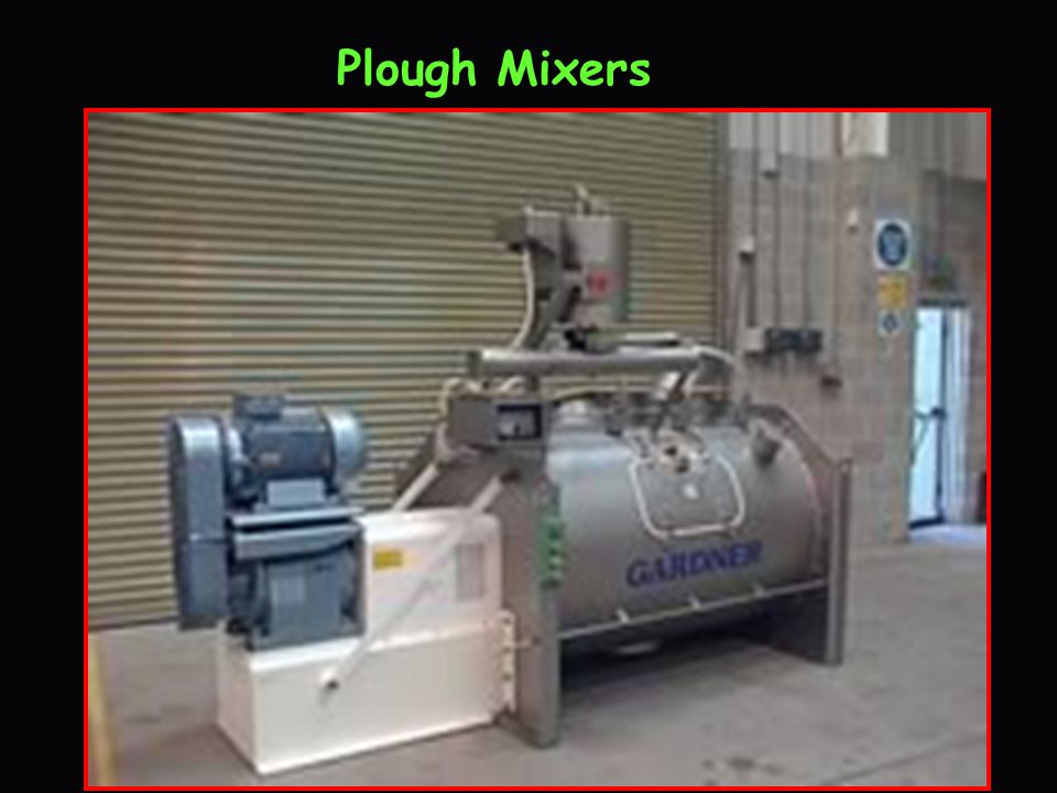 Plough Mixers