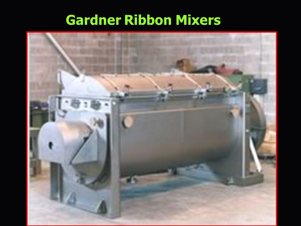 Gardner Ribbon Mixers