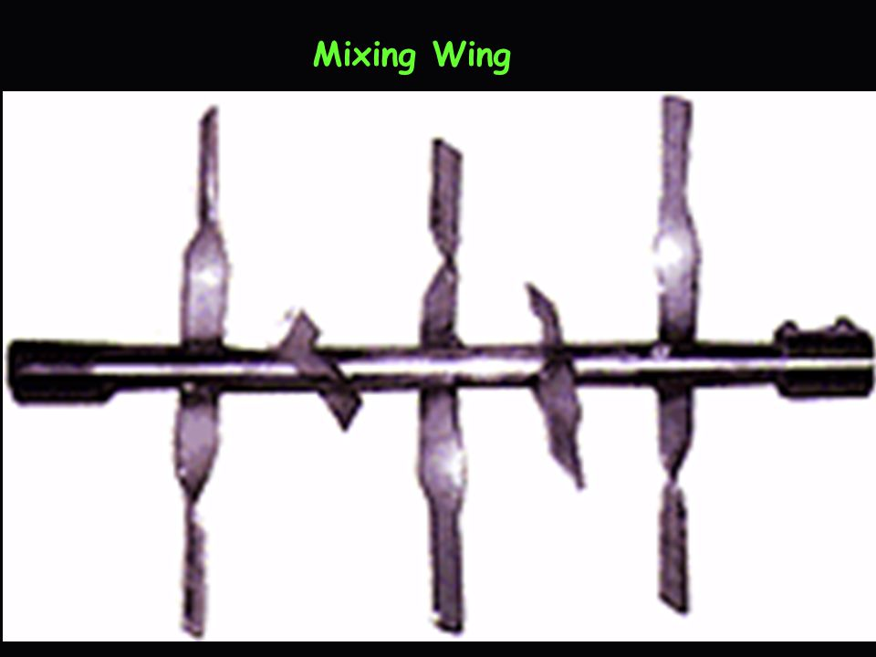 Mixing Wing