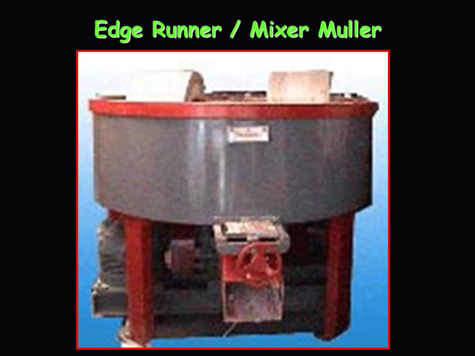Edge Runner / Mixer Muller