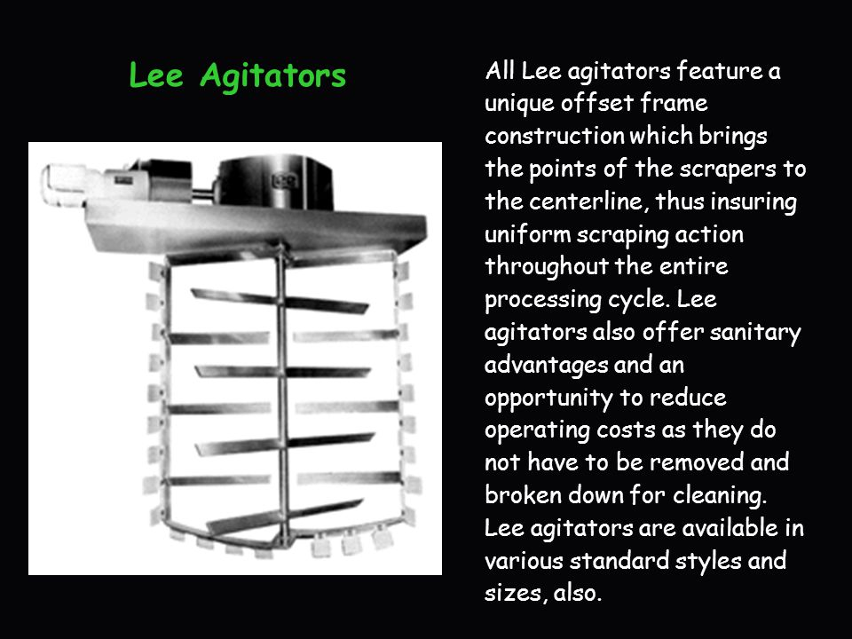 Lee Agitators