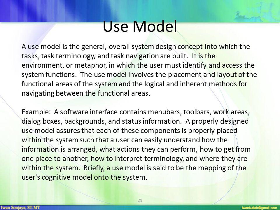Use Model