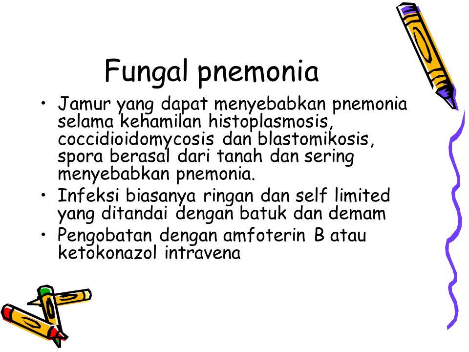 Fungal pnemonia