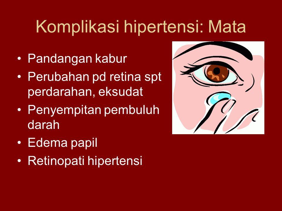 Komplikasi hipertensi: Mata