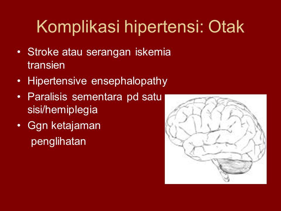 Komplikasi hipertensi: Otak