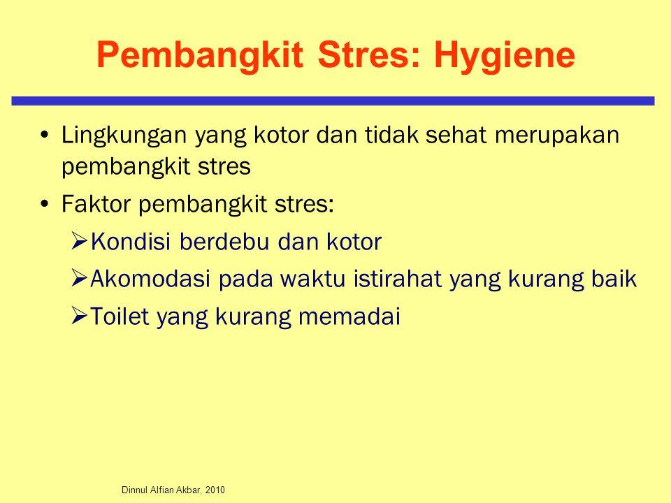 Pembangkit Stres: Hygiene