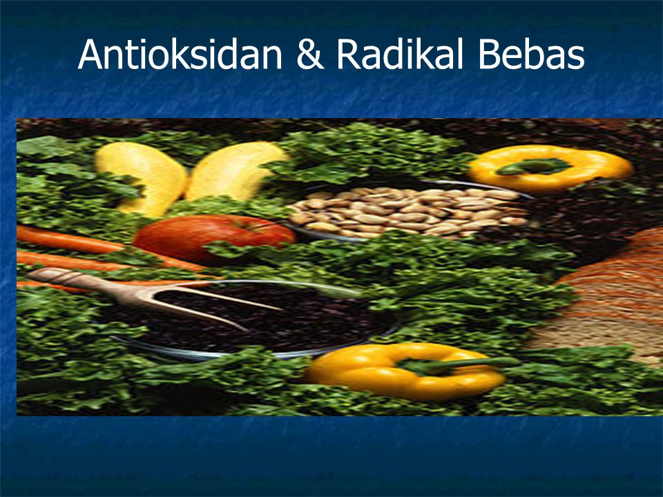 Antioksidan & Radikal Bebas