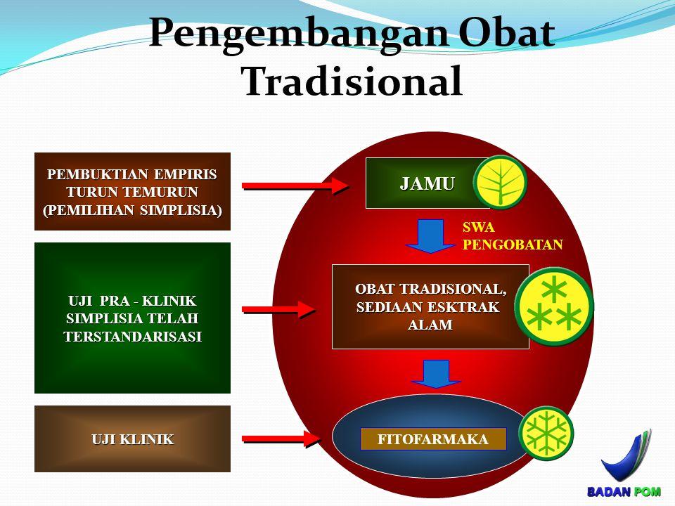 Pengembangan Obat Tradisional