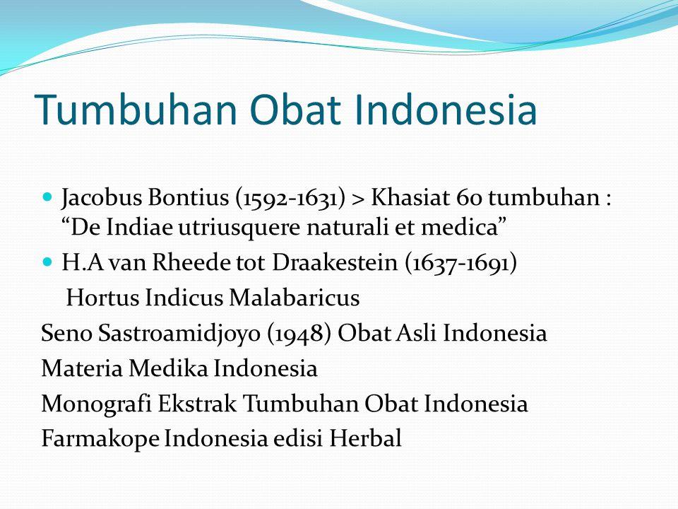 Tumbuhan Obat Indonesia